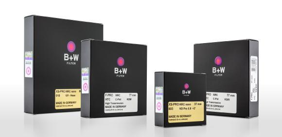 B+W Filter Neues Verpackungsdesign