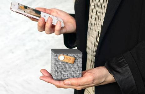 Die neue Rockbox Cube Fabriq Edition: ein kleiner, kraftvoller Bluetooth-Lautsprecher