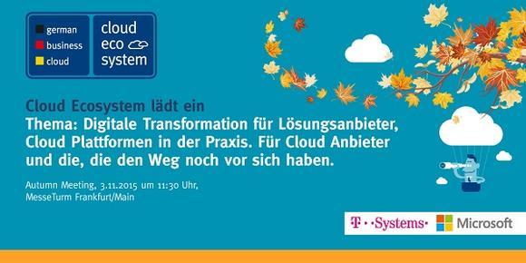 Autumn Meeting am 03.11.2015 im Messeturm in Frankfurt