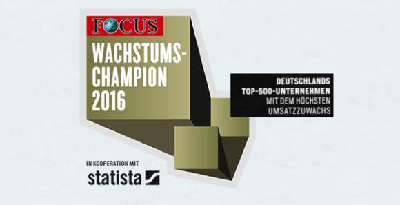 YOUR SL, Spezialist für Digitale Transformationsberatung aus Berlin, unter den TOP 500 Wachstumschampions 2016