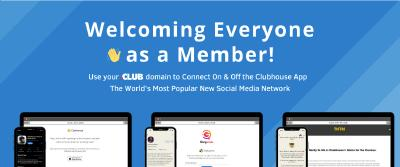 Of  Clubhouse and Club-Domains