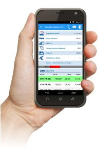 Modern und übersichtlich für den Schwarzdecken-Polier. VEGAS ist das App-basierende Taktsystem im Straßenbau für alle mobilen Endgeräte aus dem Hause PRAXIS. Information und Kommunikation für alle Beteiligte der Baumaßnahme