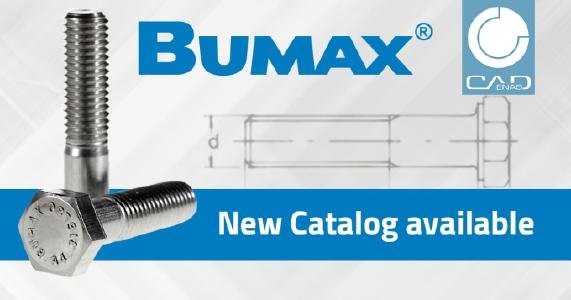 BUMAX upgrades its freely available CAD product files