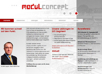 Website Relaunch von modulconcept