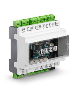 Tür-, Fenster- und Sicherheitstechnik vernetzen, zentral steuern und überwachen mit dem neuen Gebäudeautomationssystem GEZE Cockpit und dem BACnet-Schnittstellenmodul IO 420  / Foto: GEZE GmbH