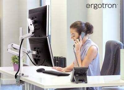 Ergotron Monitorhalterung für 2 Monitore