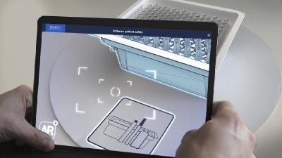 Augmented Reality Scanner | Mobile AR App für iPad