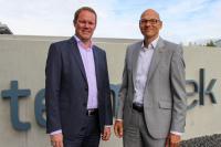 Peter Hirsch (links) mit Jan Kröger (rechts)