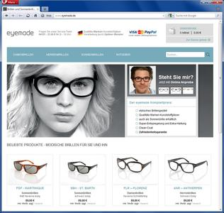 Internet-Optiker eyemade
