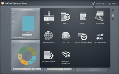 Cortado Corporate Server 6.0: Plattformübergreifendes Mobile-Device-Management mit umfassenden Desktop-Funktionalitäten inklusive Dateizugriff