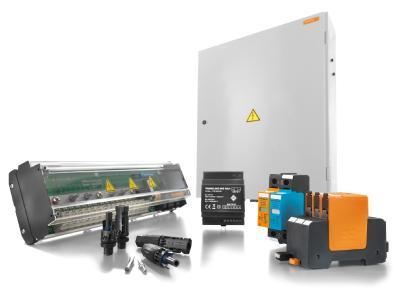 Weidmüller VARITECTOR PU PV: für den zuverlässigen und effizienten Betrieb von PV-Anlage offeriert Weidmüller ein umfangreiches Produktprogramm