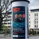 Neue Plakataktion von NCP in Nürnberg