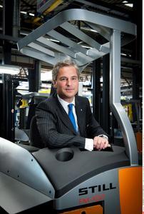 Bert-Jan Knoef, Vorsitzender der Geschäftsführung von STILL / Foto: STILL GmbH