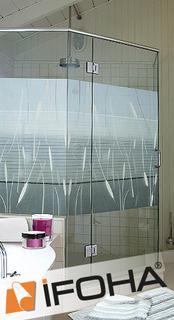 neue folie f r fenster haftet ohne kleber ifoha gmbh. Black Bedroom Furniture Sets. Home Design Ideas