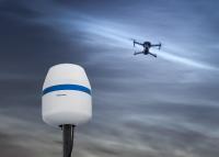 Der neue RF-160 von Dedrone detektiert Drohnen anhand von Funkfrequenzen in bis zu 5 km Entfernung