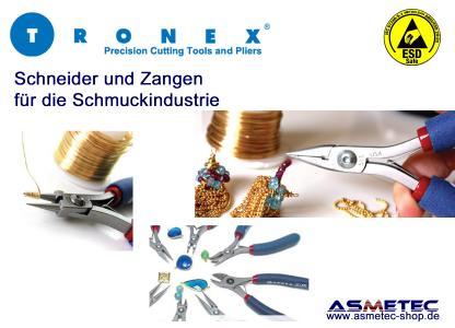Tronex Anwendung Schmuckindustrie