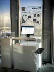 Seit Mitte Februar ist die Anwendung auch als Showcase im IBM Watson IoT Center in München zu besichtigen.