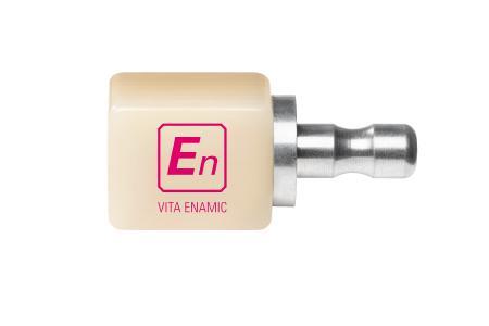 Abb. 2: Neben VITA ENAMIC® multiColor gibt es VITA ENAMIC® ST, hochtransluzent und daher ideal für Veneers, Inlays und andere schmelzbegrenzende Versorgungen.