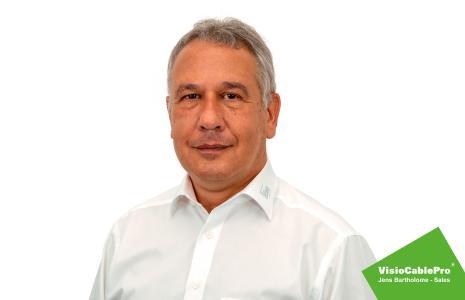 New VisioCablePro® sales employee  - Jens Bartholome