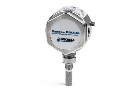 Der eigensichere Easidew PRO I.S. Taupunkttransmitter bietet hohe Langzeitstabilität und reagiert schnell auf Änderungen der Feuchtigkeit. (Bildquelle: Michell Instruments)