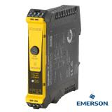 "Weidmüller safety relay ""SCS 24VDC P1SIL3DS I"": This safety relay is tailored for use with Emerson DeltaVTM DCS systems"