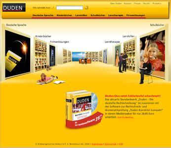 Neuer Internetauftritt: Relaunch von www.duden.de / Die Website des Dudenverlags präsentiert sich in neuem Design und mit erweitertem Angebot