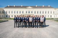 Das Team von City Immobilienmakler GmbH bei einem Fotoshooting in Hannover