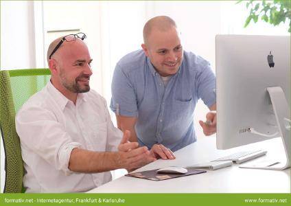 20 Jahre formativ.net Internetagentur, Agenturgründer Holger Rückert und Sebastian Mohila (v.l.n.r)