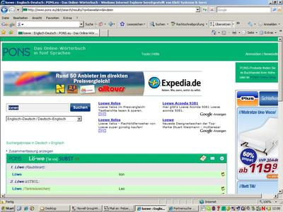 Ponseu Screenshot Bild Loewe