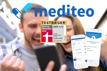 mediteo wird Testsieger bei Stiftung Warentest
