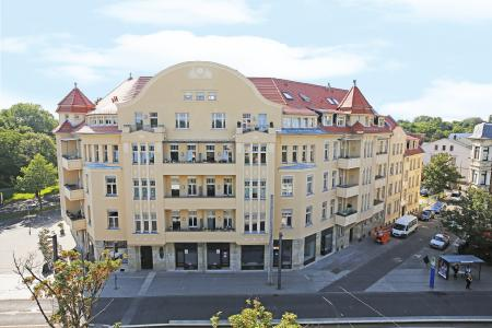 Das Palmengarten Palais in Leipzig wird als nationaler Preisträger 2016 mit dem Bernhard-Remmers-Preis ausgezeichnet (Foto: Remmers Baustofftechnik, Löningen/Dirk Knofe)
