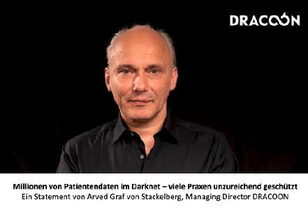 Ein Statement von Arved Graf von Stackelberg, Managing Director von DRACOON