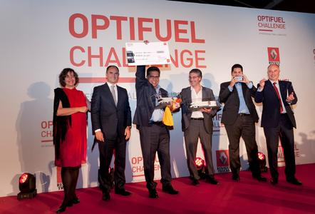 Bei der Renault Trucks Optifuel Challenge 2015 in Lissabon gewann Spanien das Finale (Foto: © Renault Trucks)