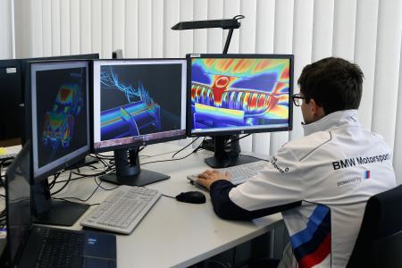 BMW Motorsport, CFD-Simulation