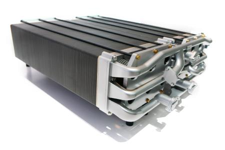 Fuel Cell with Fluoropolymers