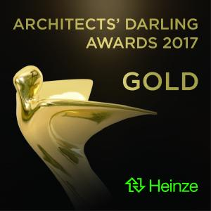 Signet Architects' Darling® Award 2017 Gold
