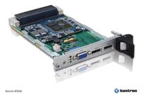 New Kontron 3U VPX graphics board provides desktop-class AMD graphics in a rugged, long-term available form factor