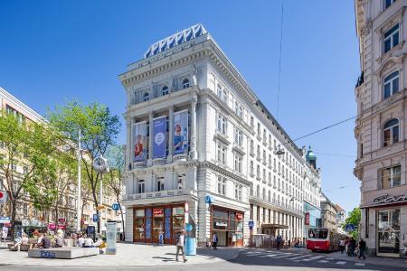 Außen: imperialer Auftritt. Innen: trendiges Boutique-Hotel, Foto: Synthesa