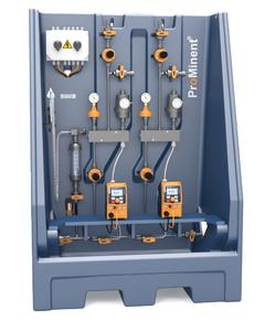 Metering System DULCODOS® universal - Liquid chemicals are metered conveniently, cost-effectively and reliably