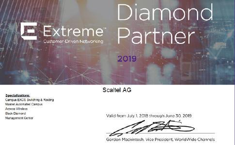 Rezertifizierung als Diamond Partner