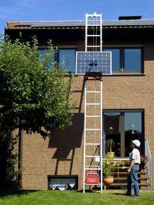 Toplift ECO with solar panel platform