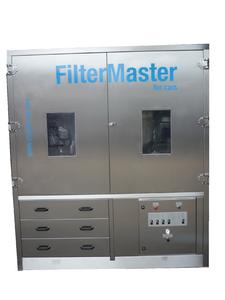 "The new cleaning method ""FilterMaster for cars"" to clean diesel particle filters (DPF) of cars."