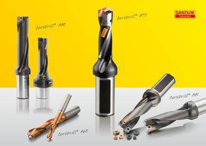 Sandvik Coromant stellt das Bohren in den Mittelpunkt: Nächste Werkzeuggeneration bietet zahlreiche Vorteile