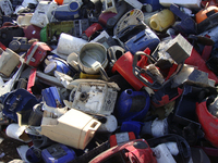 Input 1: Plastics from electronic waste