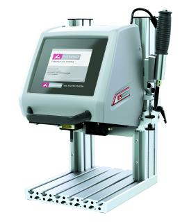 MARKATOR® presents compact, electropneumatic benchtop marker with integrated control unit