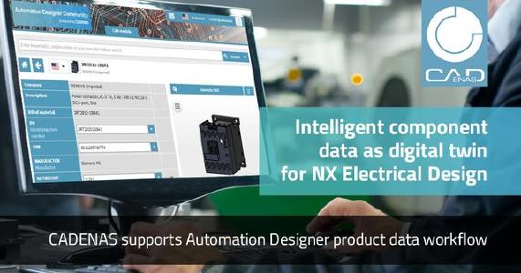 CADENAS supports Automation Designer Product Data Workflow