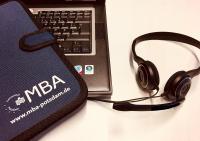 """Info-Webinar zum Studiengang """"Master of Business Administration (MBA)"""" an der Universität Potsdam"""