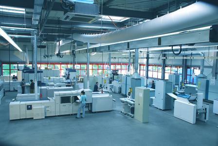 Auf neuestem Stand der Technik – das Drescher Digitaldruck- und Personalisierungszentrum