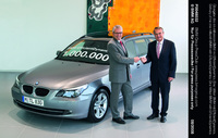 One millionth BMW with EfficientDynamics delivered