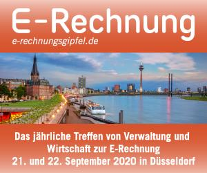 E-Rechnungs-Gipfel 2020 in Düsseldorf